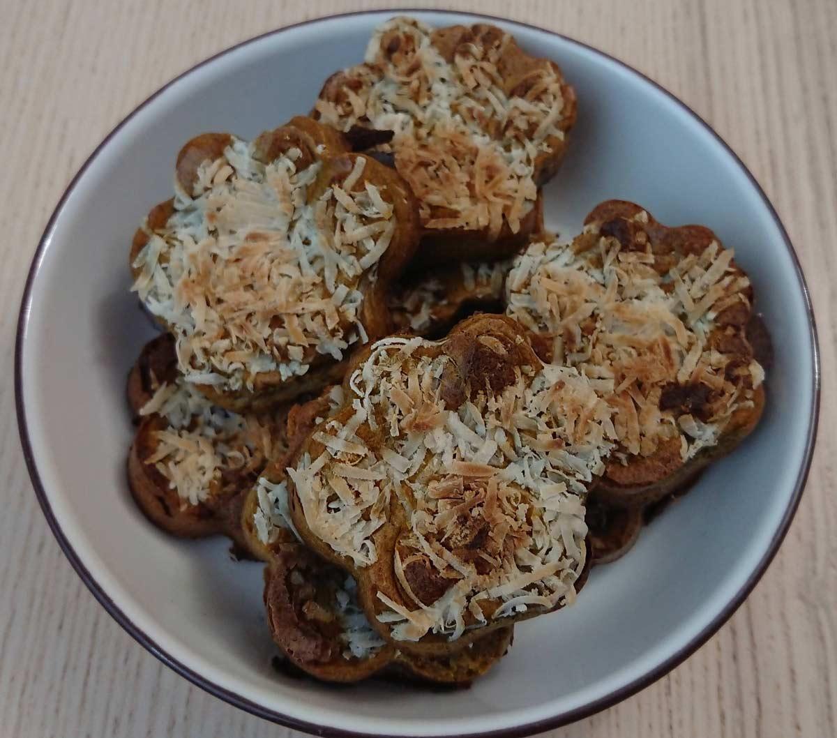 muffins de higado