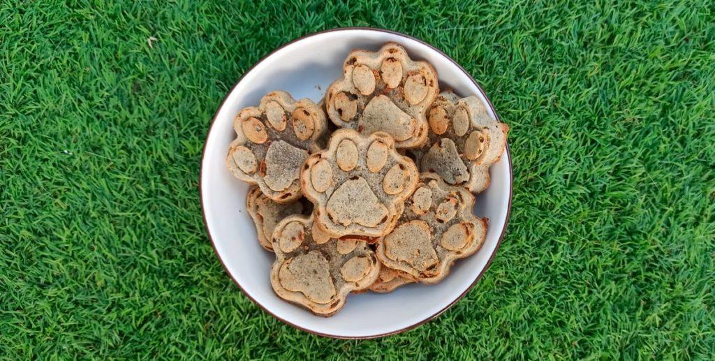 muffin o tarta de hígado para perros y gatos